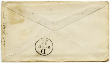 old fashioned envelope