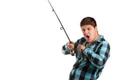 Teenager Fishing